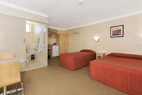 Disabled room at Nambour Lodge Motel